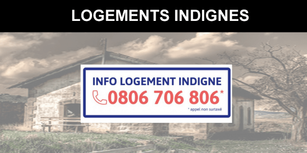 Logement indigne : un numéro de téléphone pour dénoncer les bailleurs indélicats